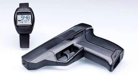 Dual Action Smart Guns - The Armatix iP1 Only Fires Within Range of Its Watch Counterpart