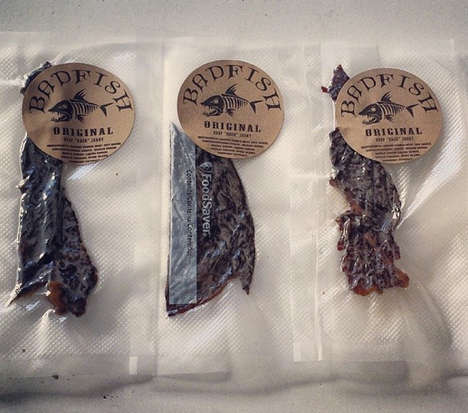 Drug-Infused Meat Snacks - This Weed Beef Jerky Brings an Edge to a Basic Snack