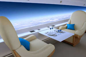 The Spike S-512 Business Jet Offers a Supersonic Wide-Angle View