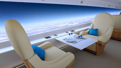 Panoramic Luxurious Jets - The Spike S-512 Business Jet Offers a Supersonic Wide-Angle View