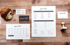 Southern Rustic Bakery Branding - Brown's Court Bakery Uses Heritage Branding to Portray Its Charm