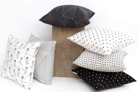 Elegantly Patterned Pillows - The La Chasse | The Hunt Collections Show True Textile Artistry