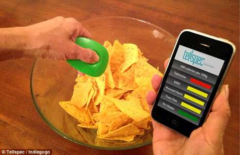 Handheld Food Scanners - Device Lets You Know What's in Your Food Before You Buy or Eat It