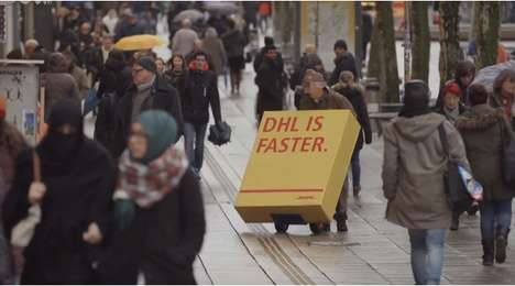 Misleading Delivery Publicity Stunts - The DHL Trojan Mailing Campaign Cleverly Dupes Competitors
