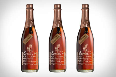 Quarter-Century Celebratory Bourbon - Booker's 25th Anniversary Bourbon Boasts the Brands History