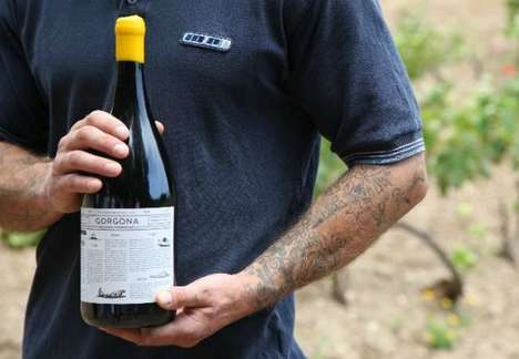 Prisoner-Rehabilitating Wine Brands - Gorgona Wine Uses Prisoners to Create Their White Wine