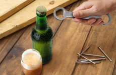Handy Man Bottle Poppers - The Tool Top Bottle Opener is Perfect for Tough and Rugged Drinkers