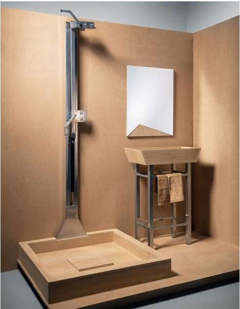 Multi-Functional Sink Hybrids - This Sink-Shower Hybrid Will Save a Lot of Space in Small Bathrooms