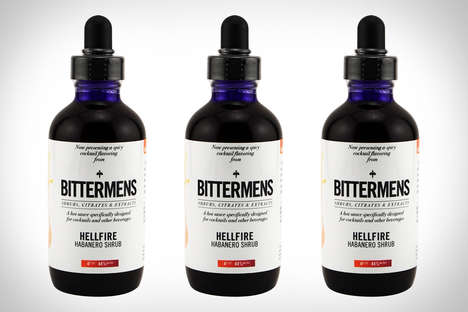 Picante Liqueur Finishers - Bittermens Hellfire Habanero Shrub is Specially Designed for Mixologists