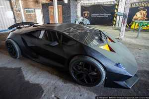 This Lamborghini Sesto Elemento is Crafted from a 30-Year Old Volvo