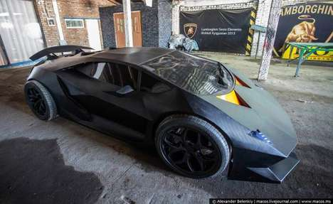 Homemade Luxury Sportcars - This Lamborghini Sesto Elemento is Crafted from a 30-Year Old Volvo