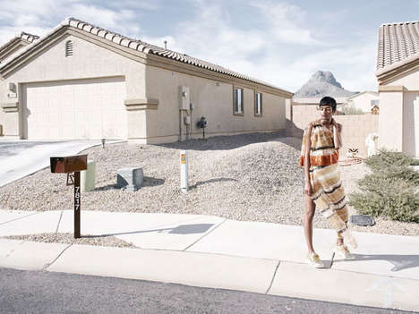 Futuristic Suburbia Editorials - The ELLE US
