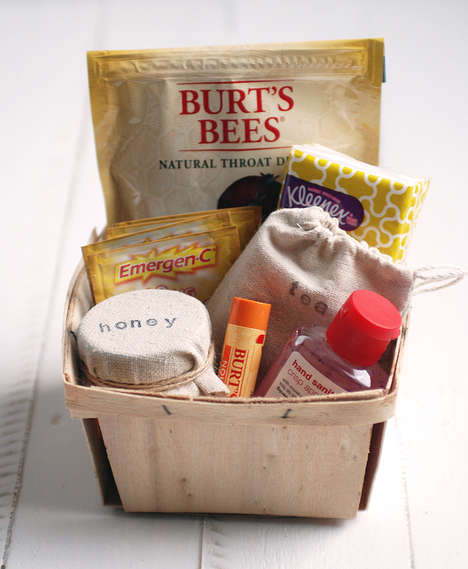 Health-Improving Care Packs - The Get Well Kit is Perfect for Sending Loving Sentiments to Sick Ones