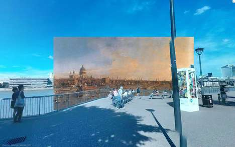 Historical Painting Street Views - Reddit User Shystone Inserts Paintings into London