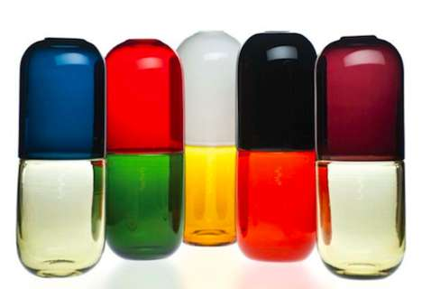 30 Pill-Inspired Innovations - From Cute Message Pills to Prescription Head Rests