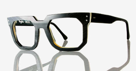 Bold Recycled Vinyl Glasses - Vinylize is a Complete Vinyl Reclamation Project