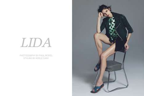 Elegantly Disheveled Editorials - The Fashion Gone Rogue