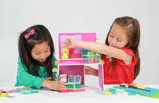 Female Empowering Dollhouses - Roominate is an Unconventional Female Empowerment Tool for Girls