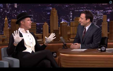 Celebrity Figure-Skating Spoofs - Jimmy Fallon and Will Ferrell Take Home the Gold in Figure Skating
