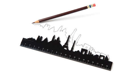 Gorgeously Exotic Skyline Rulers - Draw Straight Lines and Paris with Your Skyline Ruler
