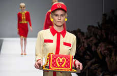 Haute Hamburger Couture - Moschino by Jeremy Scott Fall/Winter 2014 is Fast Food Flawlessness