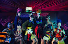 Vibrant '20s Fashion Ads - The Prada Iconoclasts Harlem Renaissance Campaign is Darkly Alluring