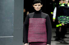 Heat-Sensing Chameleon Couture - This Color-Shifting Line from Alexander Wang Adapts Automatically