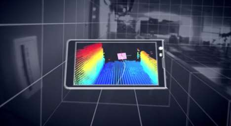 3D Location-Scanning Smartphones - Project Tango Google Hopes to Create a Better Mapping System