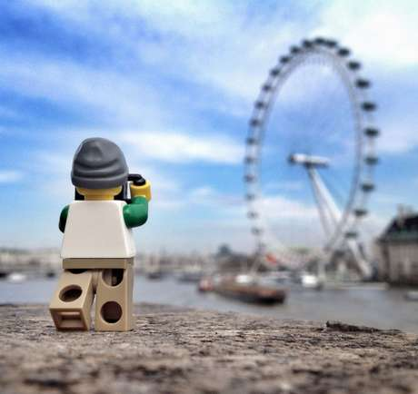 Mini Exploring LEGO Series - Photographer Andrew Whyte and the LEGOgrapher Capture the UK Scene