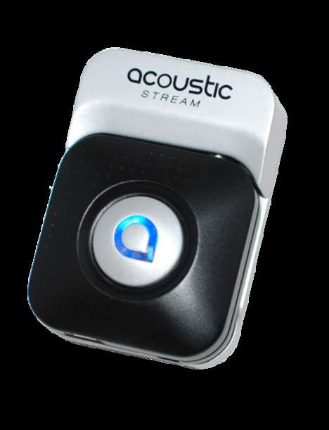 Wireless Recording Acoustic Devices - The Acoustic Stream is a Guitar Sound-Enhancing Assistant