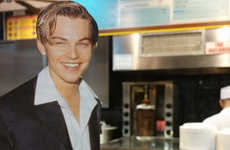 Cutouts of Leo Travel the World with the Hashtag