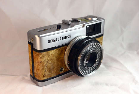 Customizable Vintage Camera Cases - These Woodskin Cases Breathe New Life Into Old Tech