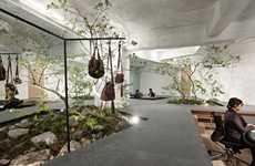 Garden-Embedded Interiors