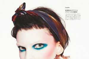 This Spring Editorial for Numero Tokyo Features Bright Face Paint