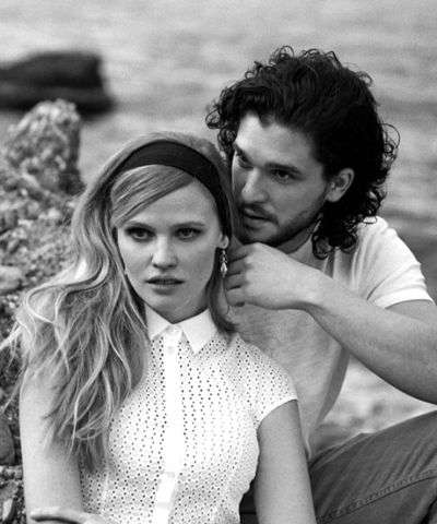 Romance-Driven Editorials - The Photoshoot Starring Kit Harrington for Vogue US is Cinematic