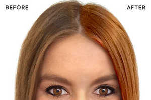The ModiFace Hair Color App Expertly Makes Virtual Hair Adjustments