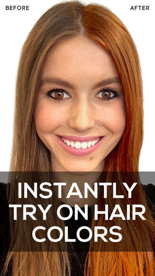 Hue-Altering Hair Apps - The ModiFace Hair Color App Expertly Makes Virtual Hair Adjustments