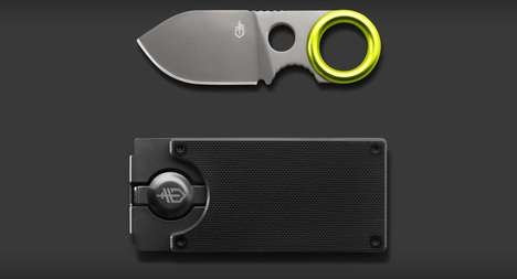 Blade-Concealing Billfolds - The GDC Money Clip Contains a Convenient Multi-Purpose Knife