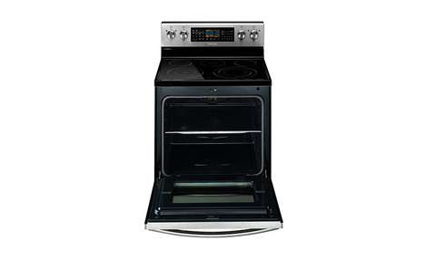 Split Oven Appliances - The Samsung Electric Flex Duo Provides Two Ovens in One