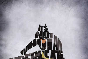 Decorate Your Wall with These Comic Book Typography Prints
