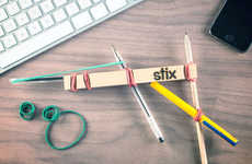 Rubberband Weapon Frameworks - The StixToy Gun by Colin O'Dowd is Made with Fathers in Mind