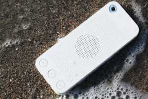 The SQueo is a New Water Resistant Bluetooth Speakerphone