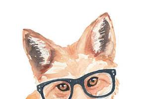 Artist Deidre Wicks Sells Animal Watercolor Paintings