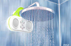 Integrated Shower Sound Systems
