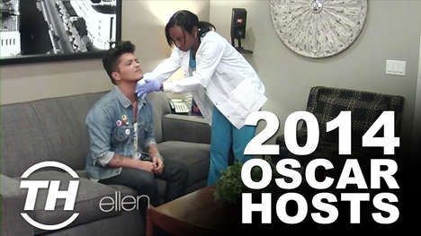 2014 Oscar Hosts - Courtney Discusses Ellen Degeneres