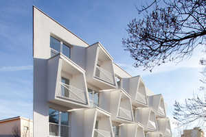 The Undulating North Star Apartments Combine Form and Function