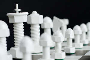 The Tool Chess is Rugged Yet Gorgeous