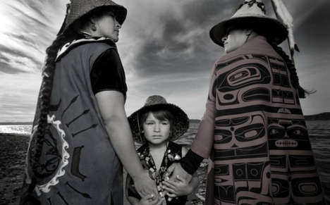 Authentic Tribal Photography - This Native American Photography Series is Bold and Educational