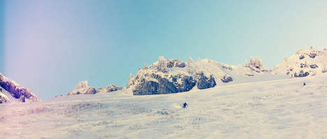 Pristine Snowboarding Photography - Leysin by Olly Burn Captures Sporty Snowy Scenes