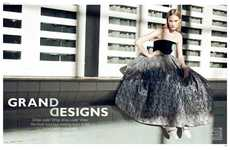 Modern Evening Dress Editorials